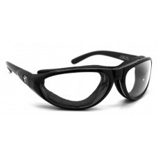 Panoptx  7Eye Cyclone Sunglasses  Black and White