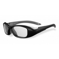 Bolle  Swag Youth Sports Glasses  Black and White