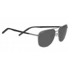 Serengeti Spello Sunglasses  Black and White