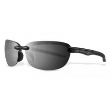 Greg Norman  G4411 Peg Sunglasses  Black and White