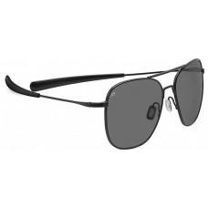 Serengeti  Aerial Sunglasses  Black and White