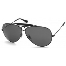 Ray Ban  RB3138 Shooter Sunglasses  Black and White