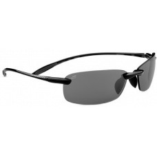 Serengeti  Luca Sunglasses  Black and White