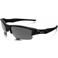 Oakley  Flak Jacket XLJ Asian Fit Sunglasses  Black and White