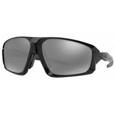 Oakley Field Jacket Sunglasses  Black and White