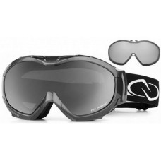 Native Mission Ski Goggles Black and White