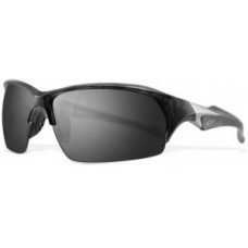 Greg Norman   G4002 Birdie Sunglasses  Black and White