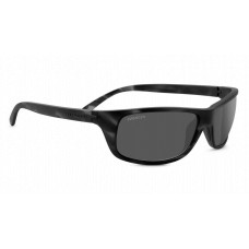 Serengeti Bormio Sunglasses  Black and White
