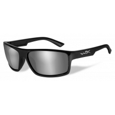 Wiley X  Peak Sunglasses  Black and White