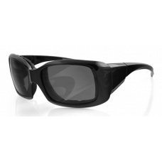 Bobster Ava Women's Sunglasses  Black and White