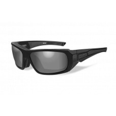 Wiley X Enzo Sunglasses  Black and White