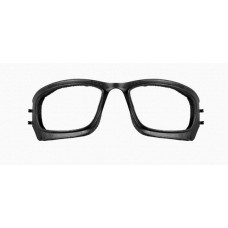 Wiley X Sleek Removable Facial Cavity Seal Black and White