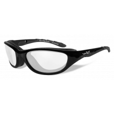 Wiley X  AirRage Sunglasses  Black and White