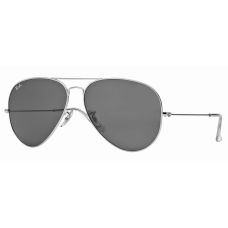 Ray Ban  RB3026 Aviator Large Metal II  Black and White