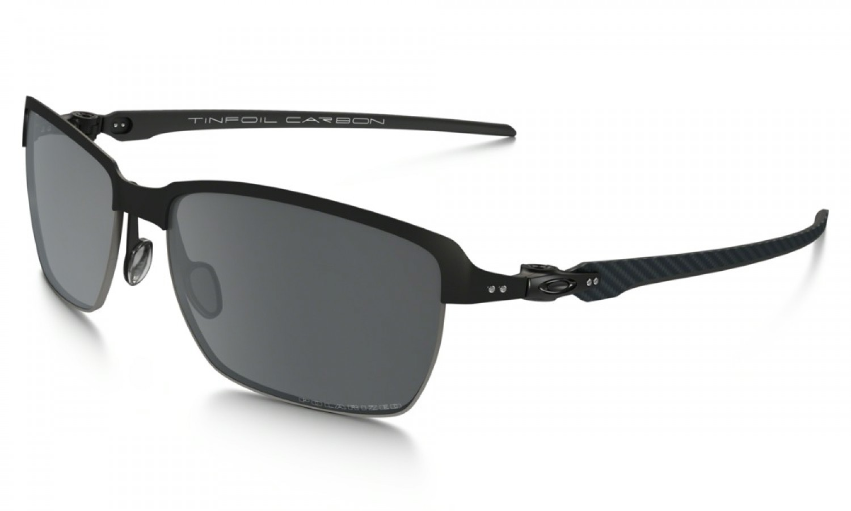 03523d6717f Oakley TinFoil Carbon Sunglasses Black and White ...
